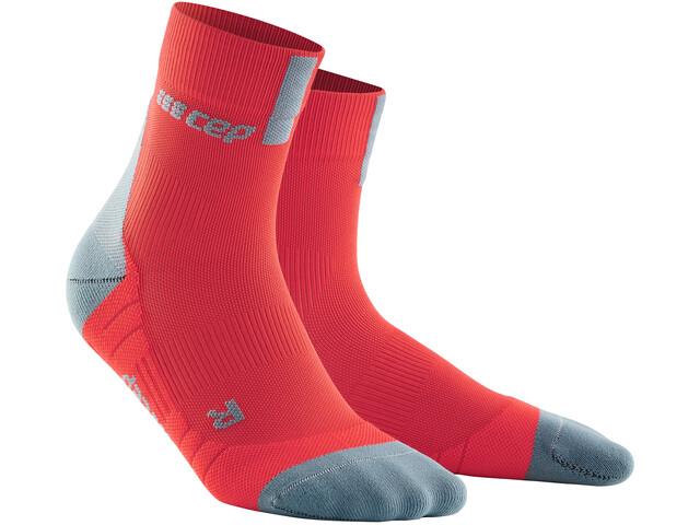 cep Short Socks 3.0 Herren lava/grey